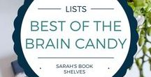 Best of the Brain Candy: Light AND Smart Books / Every now and then I'm in the mood for books that are easy on the brain, but still smartly written. These are my favorite types of books for summer!