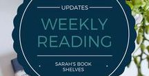 Weekly Reading Updates / Don't want to wait for my book reviews? See what I'm reading in real time! I share my quick thoughts on what I'm reading every week...including on books I don't finish.