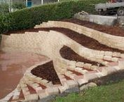 Garden ideas:Retaining wall