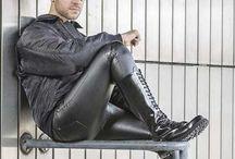 Men 2.Haut / #men #leather #underwear