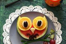 Funny Food / Schön, künstlerisch und einfach ungewöhnlich zubereitete Nahrungsmittel, Obst usw.  Superfood, art food.
