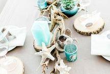 DIY Tischdeko / Tischdeko, Tischdekoration, festliche Tafel, festlich gedeckter Tisch, DIY-Tischdeko, DIY, basteln