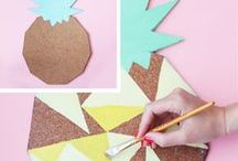 DIY Bastelideen / DIY, DIY-Ideen, basteln, selber machen, Bastelideen, Selbermachen