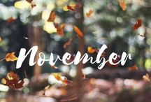 Hello november / November themed pictures