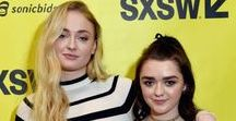 Sophie & Maisie / The beauty's Sophie Turner and Maisie Williams
