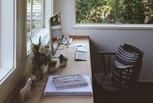 interiors | workspaces / by xiomiandrea