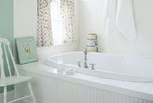 Bathroom spaces / by Over the Big Moon