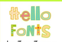 FAB FONTS! / by Susan Gray