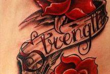 Tattoos ♨ / by Kristen Pelura