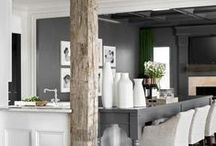 INTERIORS: gray / this versatile & modern design anchor adds an immediate elegance and timeless quality