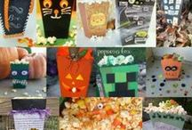 Halloween Popcorn Box Party