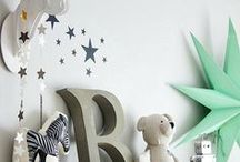 KIDS ROOM / Gender neutral inspiration for a shared kids room to suit a baby and a toddler.