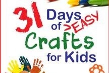 Kid Crafts / Lots of great craft ideas to do with kids of all ages