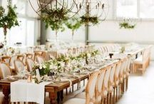 WEDDING RECEPTION / Inspiration and ideas for styling your wedding reception. With more and more couples moving away from wedding traditions, you can really have fun with designing your wedding reception. There are a variety of table layouts to choose from, lounge areas to add and so much more.