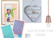 2015 Gift Guides / Curated Gift Guides by Everything Begins.  We've curated a series of beautiful gift guides, with each piece handpicked from our favourite artists and designers around the globe!  All available to shop online at http://www.everythingbegins.com