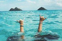 Beach and holidays