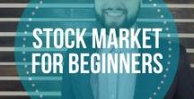 Stock Market for Beginners / stock market for beginners, investing, ETF, tips, trading, learning, make money