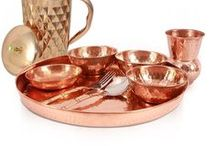 Copper Work / Silkrute offers a wide collection of #Copper items like #Jug, #Glasses, #Dinner set etc.