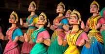 Dancing Dolls - TANJORE THALAIYATTI BOMMAI / Buy #dancing #dolls to #decor your #home. These are the #handmade and available in different colors and designs.