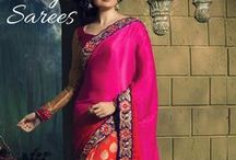 Designer Saree / A #Sarees can best portray your personality and reveal internal you just if the assurance is done well. An extensive measure of #IndianSarees #fashioners is notable for their delicate work and decision of shading mix. You can take a gander at the engineer's portfolio to assert his or her work and consider advertise rates.