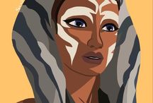 Ahsoka Tano / My favorite female character in the whole STAR WARS Universe