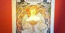 Art Nouveau Lamps Handmade / Lamps Lampshades Art Nouveau