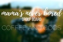 Mamas Never Bored Group Board / Group board for all the things that keep mama busy. Pregnancy, motherhood, diy, recipes, organization, fitness, business, etc. If it keeps you busy, post it!  To join, follow me and like the Coffee and Coos Facebook page at facebook.com/coffeeandcoos.  Send me a message via Facebook and I will add you!  Happy Pinning.