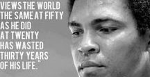 The Quotable Muhammad Ali / It's hard to be humble when you are the greatest. - Muhammad Ali - Including many other words from the greatest boxer ever.