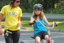 PEAC Biking / Programs To Educate All Cyclists (PEAC) is a national leader in the field of teaching individuals with disabilities cycling skills. PEAC works with all individuals, regardless of their disability, and firmly believes everyone can learn to ride.  They offer cycling skills classes for children and adults, active transportation training through the public schools, group rides and personalized assistance to meet the needs and abilities (basic or advanced) of all cyclists. http://bikeprogram.org/