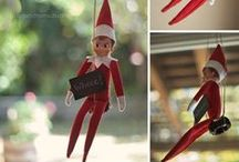 Elf on the Shelf / Fun, creative, and crazy ideas for your Elf on the Shelf