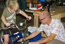 A Boy and His Bike / A boy with osteosarcoma, a cancerous bone tumor, and amputated left leg receives a bike. To hear more about his story, visit: http://bit.ly/Nxf1R6