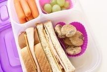Snack & Lunch Time / Snack & lunch box inspiration & recipes
