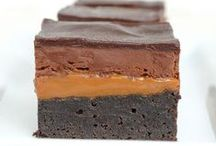 ♡ Brownies & Bars ♡ / Brownies, bars, and treats.  / by Bake Love Give