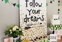 Graduation / Graduation party ideas for your graduating kindergartner, high school grad or college grad