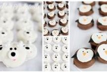 Birthday : Penguins & Polar Bears Party / Ideas for your penguins and polar bears theme birthday party, indoor pool party in the winter, swimming party, winter swim