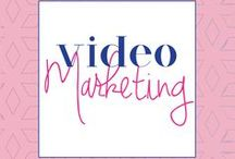 Video Marketing / video marketing tips, how to create video content, video marketing, youtube, video marketing ideas, how to use periscope, viral videos, snapchat, how to use video to grow your business
