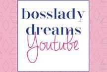 Bosslady Dreams Youtube / business tips, business strategies, picmonkey tutorials, marketing tips, productivity tips, entrepreneur, entrepreneurship, blogging tips, diy design tips