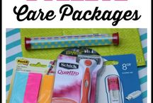 Care Packages! / Care package ideas, decorations & inspiration