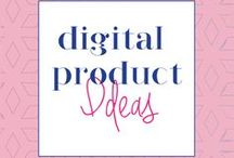 Digital Product Ideas / Digital products to sell, digital products design, digital products ideas, printables, workbooks, how to sell digital products, how to sell digital downloads, online courses, ebooks, ecourse, ecourse creation, ecourse design, ecourse ideas, ecourse resources