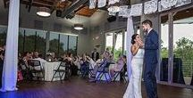 Wedding : Industrial Chic / Industrial Chic Wedding Reception at the Rabb House in Round Rock, Texas includes Round Rock Donuts, Papel Picado, DIY Wedding Decorations