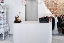 Salon Inspiration / How do you envision your new salon suite at Studio 55 Salon Suites? Follow our salon design and decor inspiration. Salon suites, salon design inspiration, salon station decor, salon decor, salon chairs, salon mirrors, salon lighting.