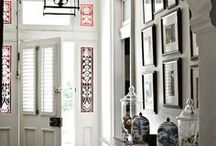 Entrance halls and foyers / These are ideas and inspiration for entrances halls and foyers, useful places for storing coats and daily trappings while still providing a warm welcome to guests.
