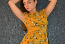 Capsuleight - Miss Dijon / Here at Capsuleight this autumn we have introduced a capsule called Miss Dijon a fun formal wardrobe capsule with a  twist on the colour name. Using Mustard and Navy colours and with plains and some floral patterns. This autumn if you love these two colours this is the capsule to get.  #Navy #Mustard #Dijon #MustardAWlooks #NavyAW17 #WardrobeGoals #AWlooks #AW17 #CapsuleWardrobe
