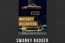WHISKEY DECANTERS / WHISKEY DECANTERS Personalized Whiskey Decanters are the perfect gift for any aspiring gentleman of distinction. Personalized. Manly. Decanterrific. The most gratifying of groomsmen gifts.