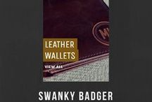 LEATHER WALLETS / LEATHER WALLETS Personalized Leather Wallets. Sick and tired of forgetting your name or up to 3 initials? My goodness, have we got the solution for you.