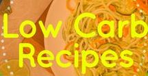 Low Carb Recipes / Recipes for a healthy lifestyle and weight loss | Low Carb, Keto, LCHF, Low GI, Healthy Carbs, Gluten-free, Sugar-free, Bulletproof, Slow carb
