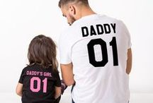 Daddy & Me / Get inspired with these Daddy & Me portraits and activities. Bond with your kids over games and sports while surrounded by your favorite team's artwork from ScoreArt.