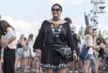 Looks We LOVE / We LOVE the style of these plus size bloggers & celebrities!  #additionelle #style #plussize #plussizebloggers #plussizecelebrities