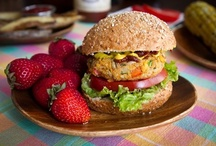 veggie burgers / by Kerry Barbera