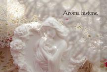 JG Collection story / aroma histone レース編み サシェ sachet